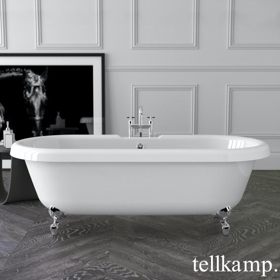 Tellkamp Antiqua freestanding oval bath white gloss, panel white gloss