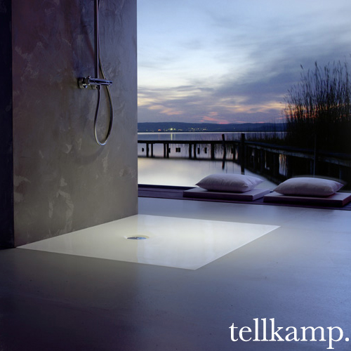 Tellkamp Aquazone square/rectangular shower tray