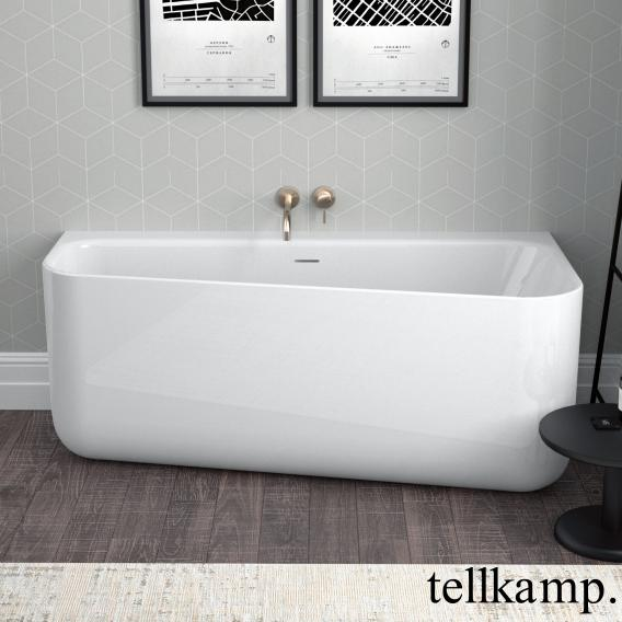 Tellkamp Koeko compact bath white gloss, without filling function