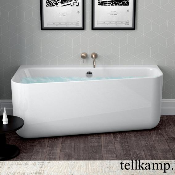 Tellkamp Koeko back-to-wall whirlbath with panelling white gloss