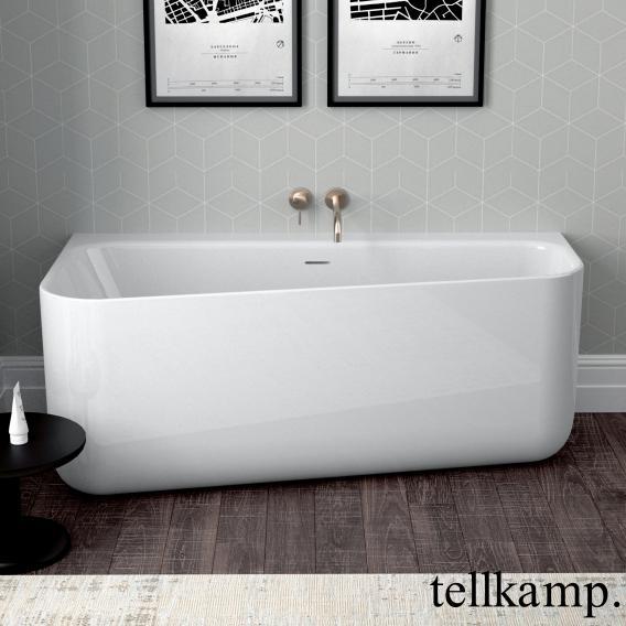 Tellkamp Koeko compact bath white gloss, without filling function
