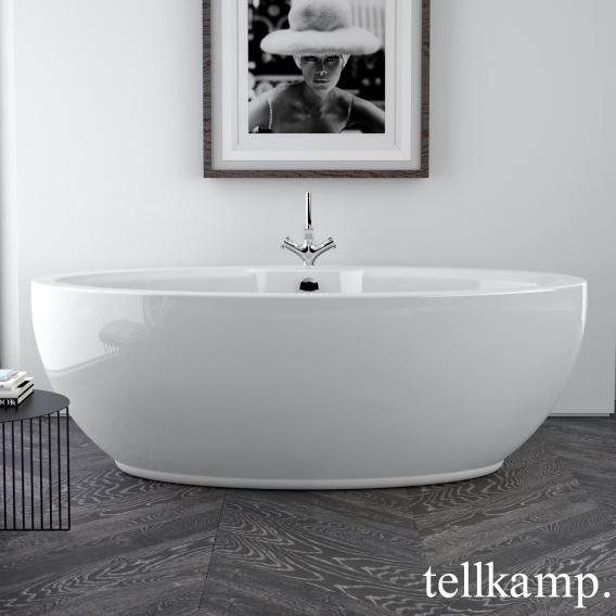 Tellkamp Orbital freestanding oval bath white gloss, without filling function