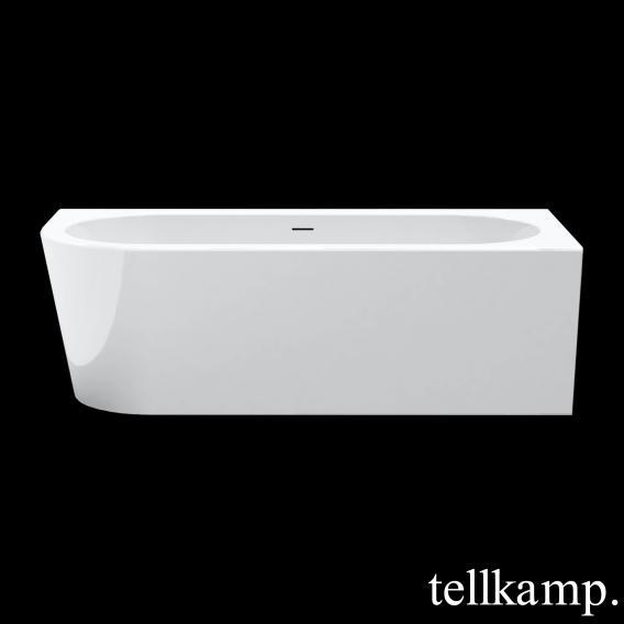 Tellkamp Pio L corner bath, left version white gloss, panel white gloss