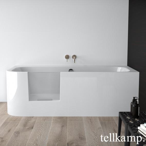 Tellkamp Salida rectangular bath with door white gloss, without filling function