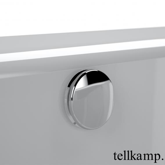 Tellkamp Solitär freestanding oval bath white gloss, panel white gloss