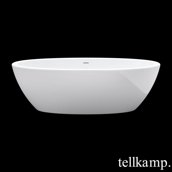 Tellkamp Space freestanding oval bath panel white gloss, without filling function