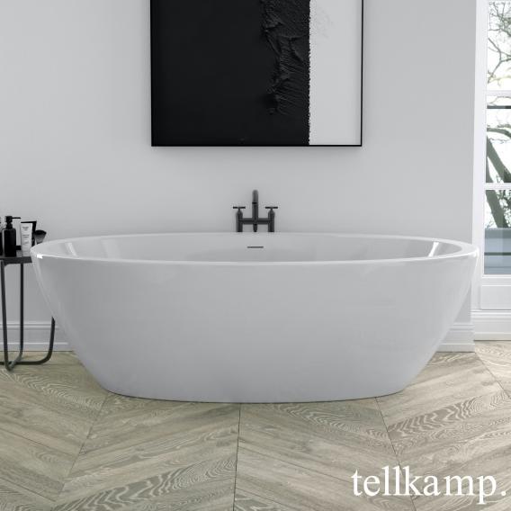 Tellkamp Space freestanding oval whirlbath white gloss, panel white gloss