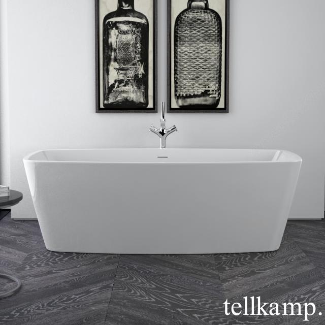 Tellkamp Arte freestanding rectangular whirlbath white gloss