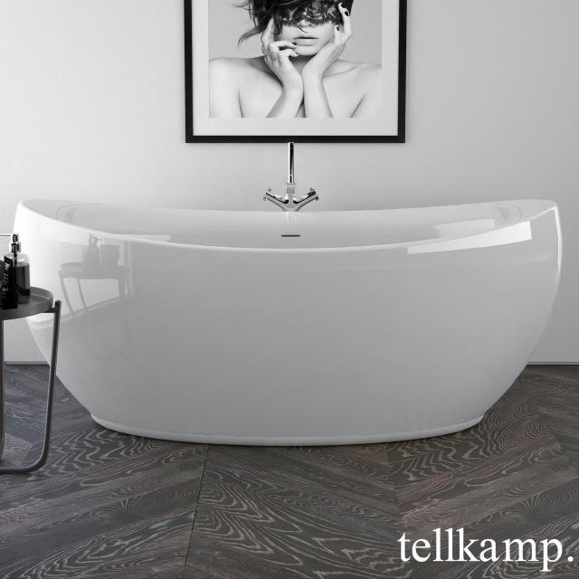 Tellkamp Spirit freestanding oval whirlbath white gloss