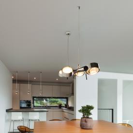 Top Light Puk Quartett LED pendant light