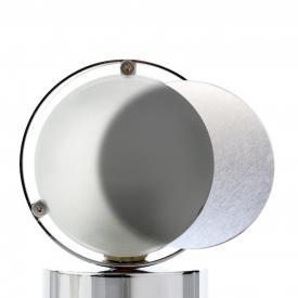 Top Light set of aluminium reflector + glass for Puk and Lens lights