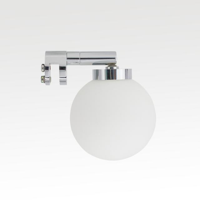 Top Light Bulb Fix mirror screw clamp light