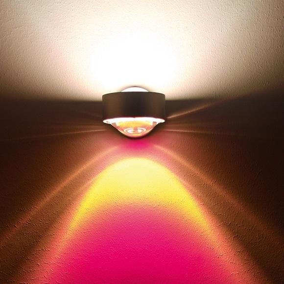 Top Light clear colour filter for Puk, Lens and Light Finger luminaires