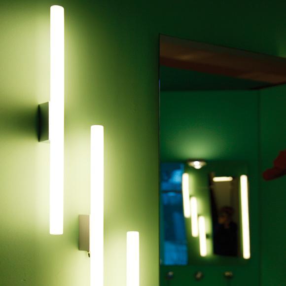 "Top Light Lichtstange ""die schnelle"" wall light with on/off button"