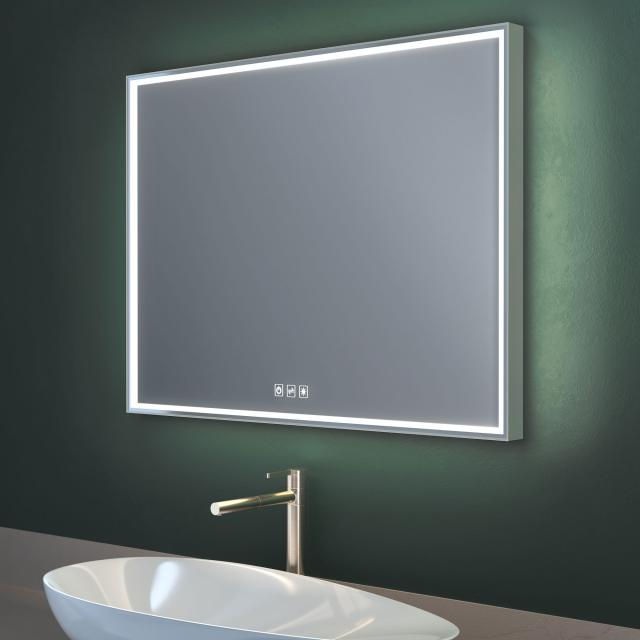 Top Light Lumen Light mirror with LED lighting with dimmer and CCT