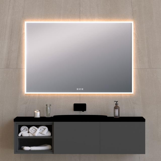 Top Light Mirror Light mirror with LED lighting with dimmer and CCT