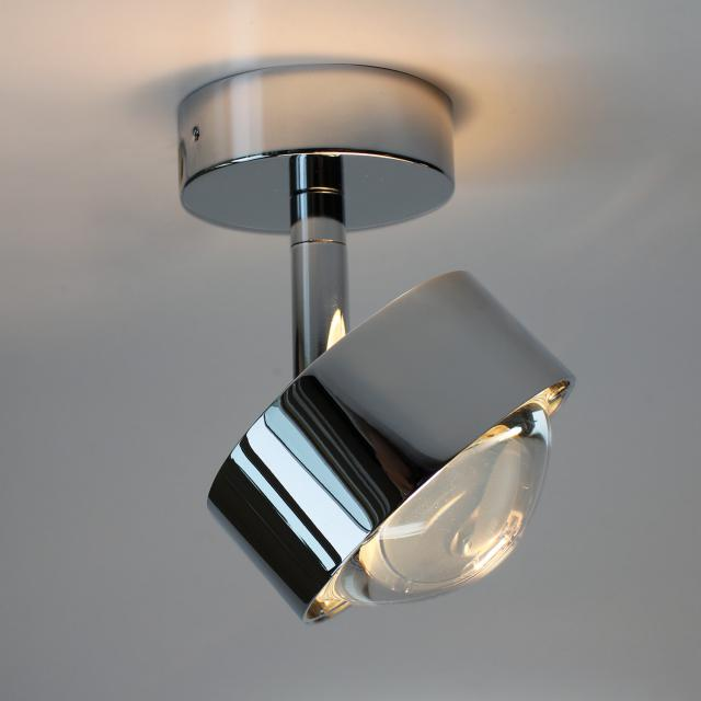 Top Light Puk Turn Up-/Downlight LED ceiling light without accessories