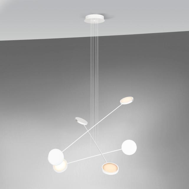 tossB Mobi LED pendant light, 6 heads