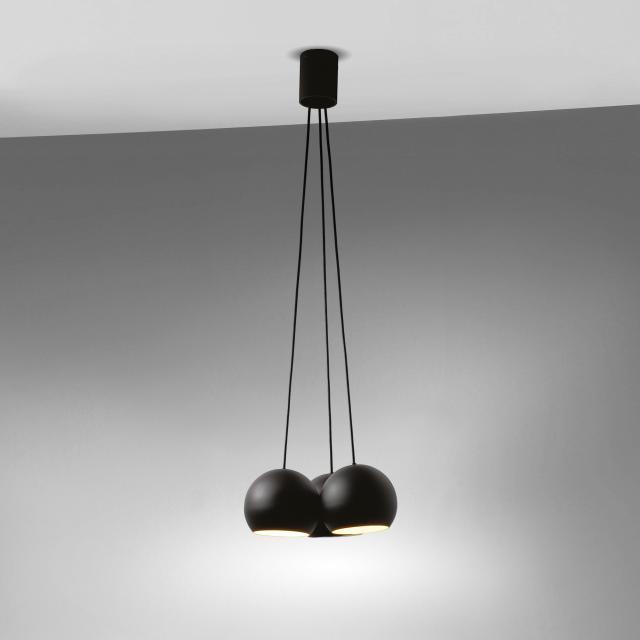 tossB Sphere 3 pendant light, 3 heads