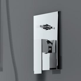 treos 175 single lever bath/shower mixer, trim set