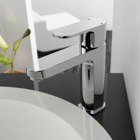 treos Series 173 single lever basin mixer with pop-up waste set
