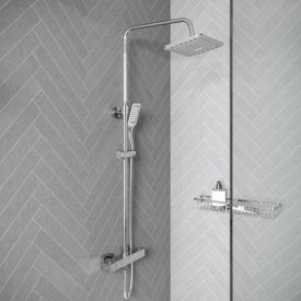 treos Series 176 exposed, thermostatic shower system