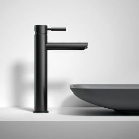 treos Series 190 single lever basin mixer without waste set, matt black