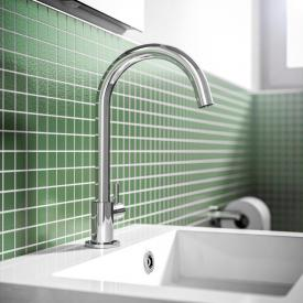 treos series 190 single lever pillar tap without waste set