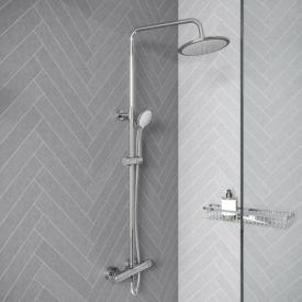 treos Series 191 exposed, thermostatic shower system