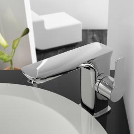 treos Series 193 single lever basin mixer with pop-up waste set