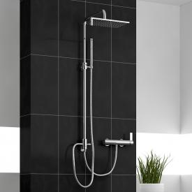 treos Series 195 shower system with overhead shower, wall-mounted