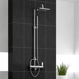 treos Series 195 wall-mounted shower system with shower arm
