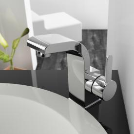 treos Series 198 single lever basin mixer without waste set