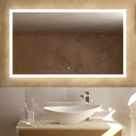 treos Series 620 wall-mounted mirror with LED lighting