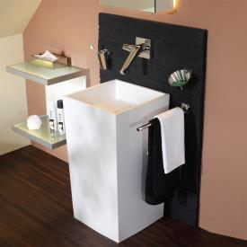 treos Series 700 mineral cast floorstanding washbasin