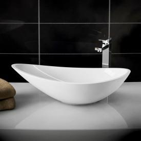 treos Series 710 countertop washbasin white