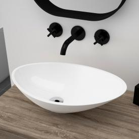 treos Series 710 countertop washbasin white