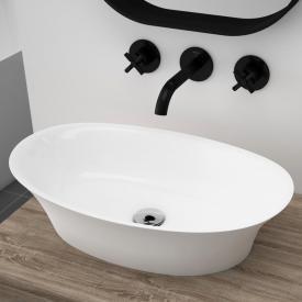 treos Series 730 countertop washbasin white