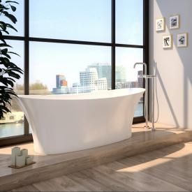 treos series 730 freestanding bath white