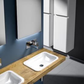 treos series 750 built-in and drop-in washbasin