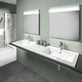 treos Series 750 drop-in double washbasin