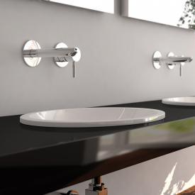 treos series 750 drop-in washbasin, round