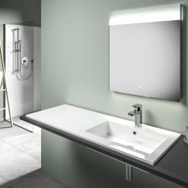 treos Series 750 drop-in washbasin