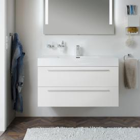 treos Series 900 vanity unit with washbasin front white / corpus white / WB white
