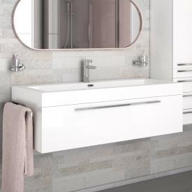 treos Series 900 vanity unit with washbasin front white / corpus white / WB white