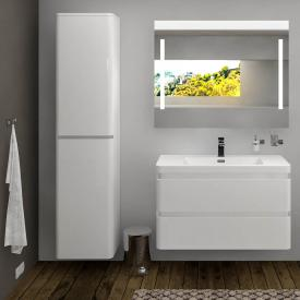 treos Series 920 tall unit with 2 doors front white / corpus white