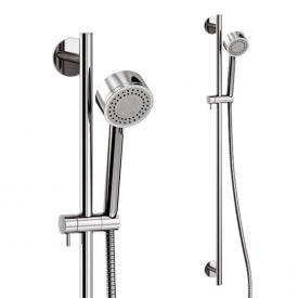 treos shower set with shower rail and 3-mode hand shower