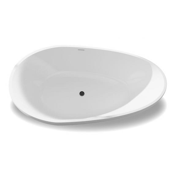 treos Series 700 freestanding mineral cast bath white