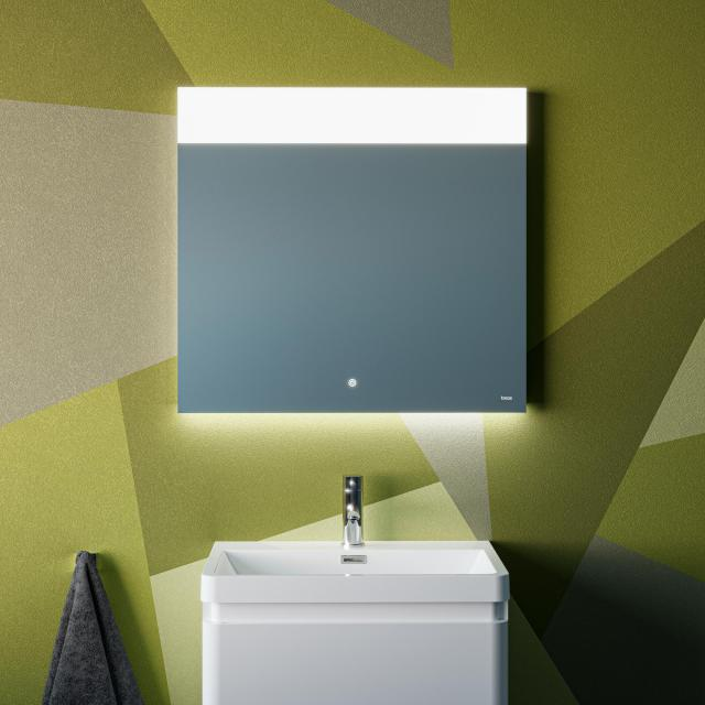 treos 630 wall-mounted mirror with LED lighting