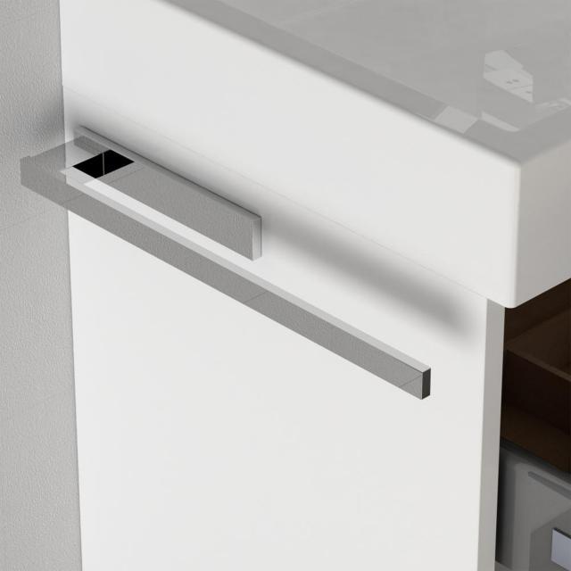 treos Series 505 CUBE towel bar for bathroom furniture chrome